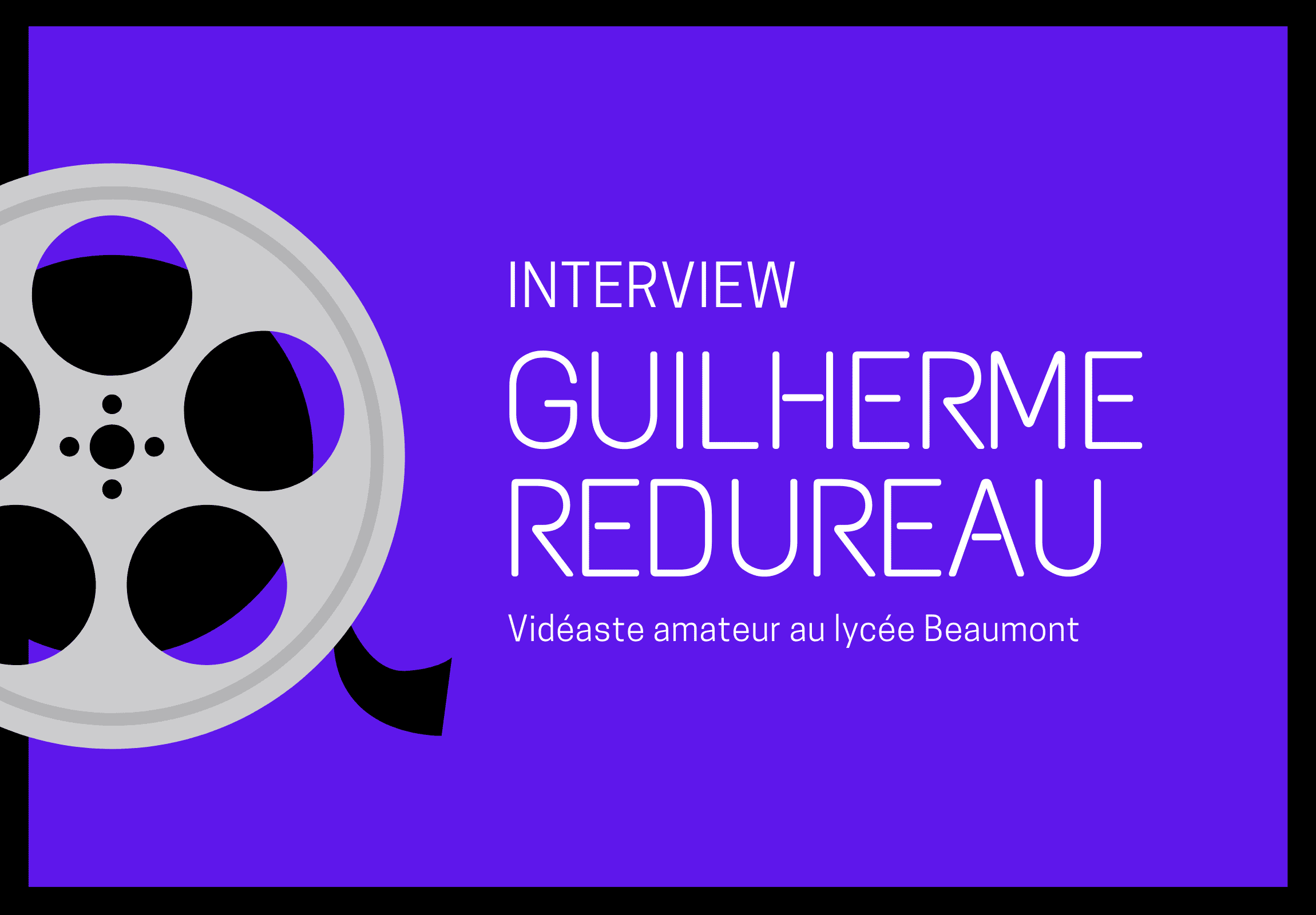 interview Guilherme Redureau